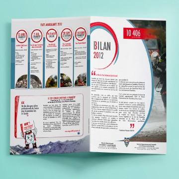Réalisation du Bilan annuel pour les Sapeurs-Pompiers Savoie