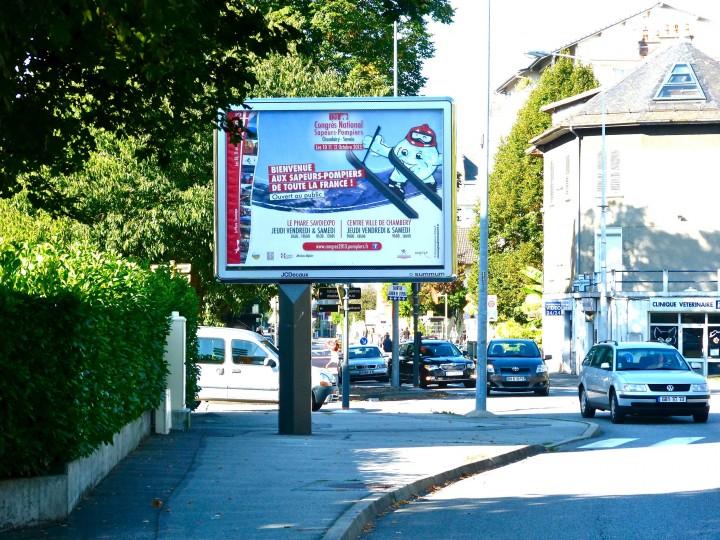 Congrès National des Sapeurs-Pompiers de France – communication globale