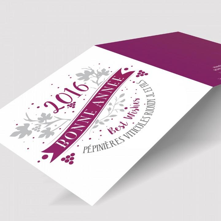 Pépinières Viticoles Riondy JL & Fils – Carte de vœux