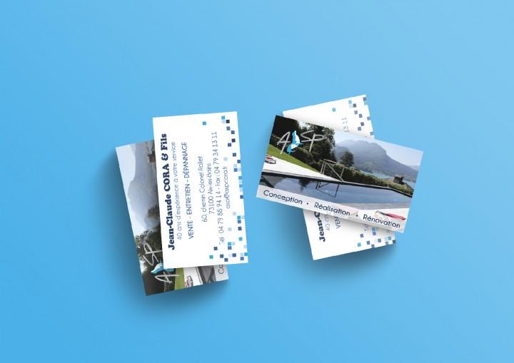 ASP – Aix-les-Bains – Cartes de visite