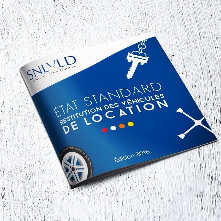 Réalisation du dépliant expliquant les critères de restitution de véhicules par le SNLVLD