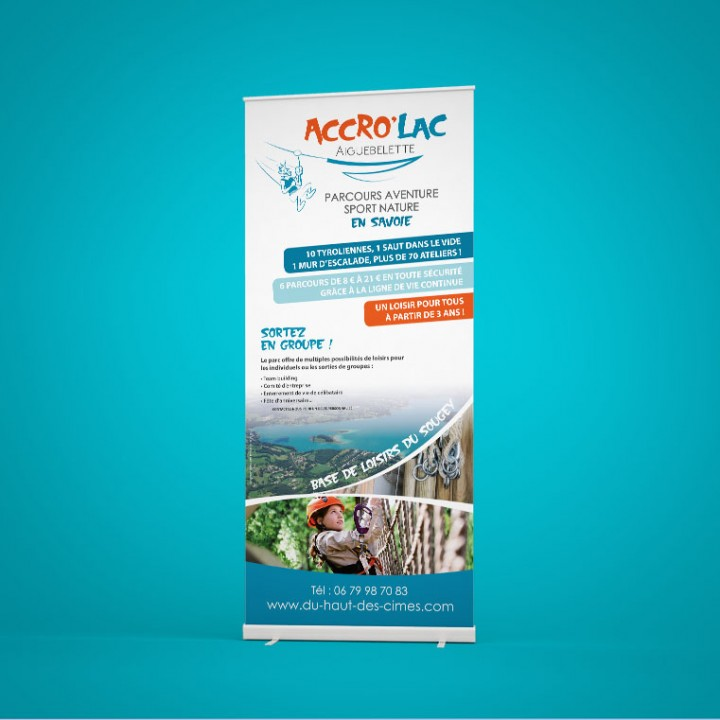 Accro'Lac – Communication visuelle globale