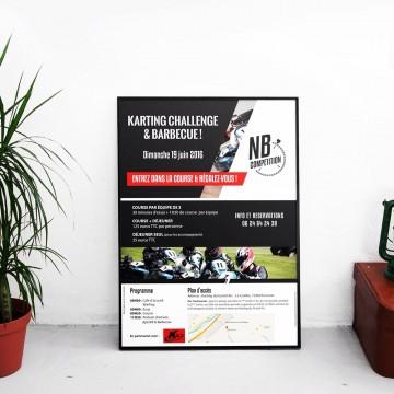 Affiche NB compétition