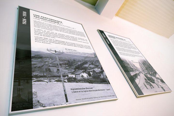 Panneau pour l'exposition du SDES 73