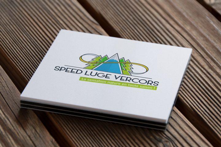 Réalisation de la communication de Speed Luge Vercors, la toute nouvelle luge 4 saisons située dans le Vercors, en partenariat avec l'agence Avense Conseil