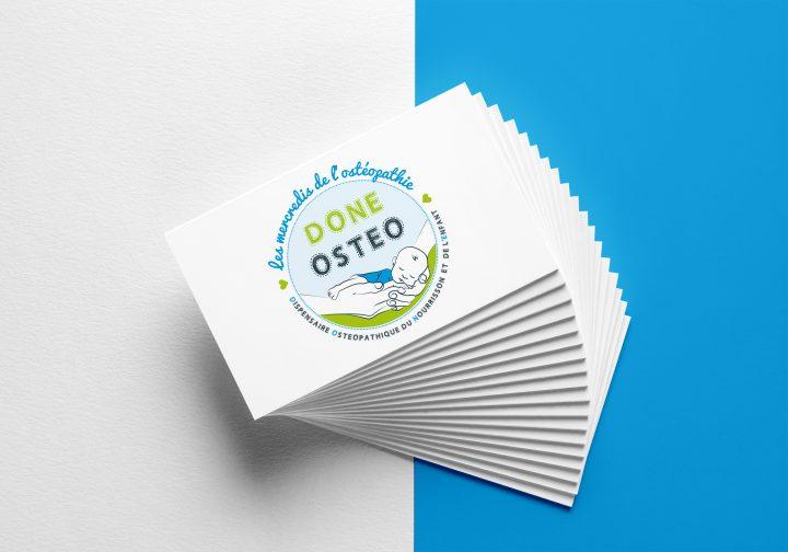 Association DONE Osthéo – Logo