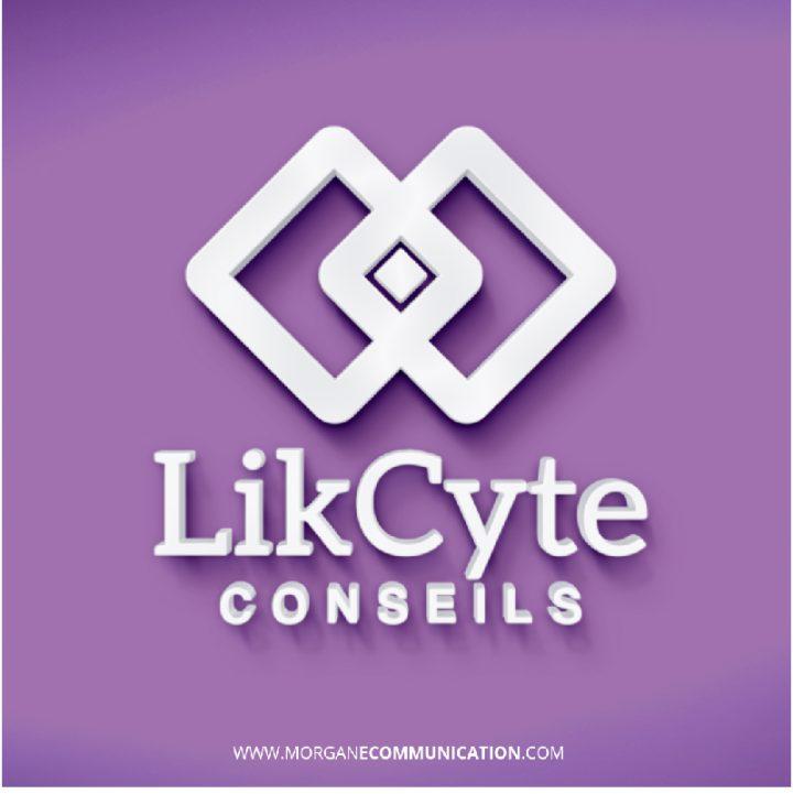 Réalisation du logotype pour la société LikCyte Conseils spécialisée dans le développement foncier et la valorisation immobilière.