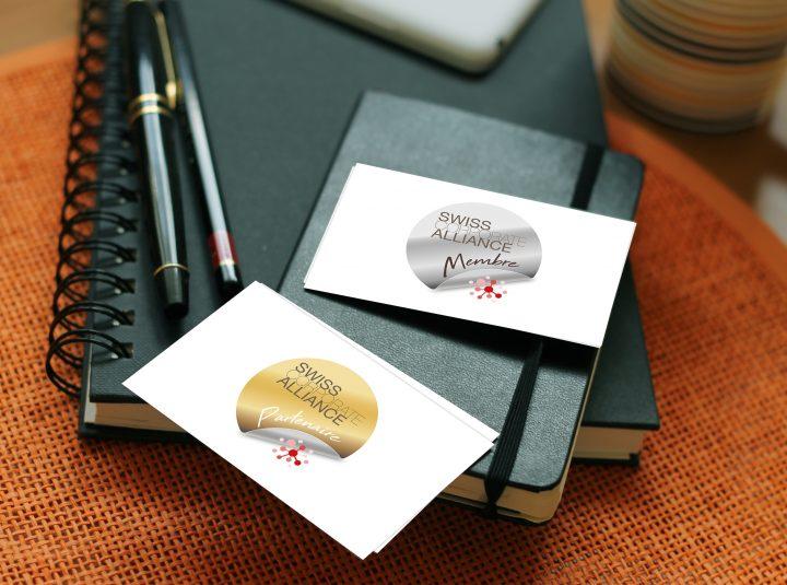 Swiss Corporate Alliance – Création de badges