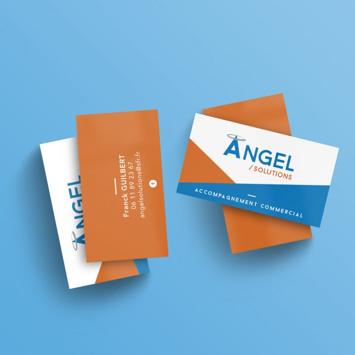 Angel solutions – Carte de visite professionnelle